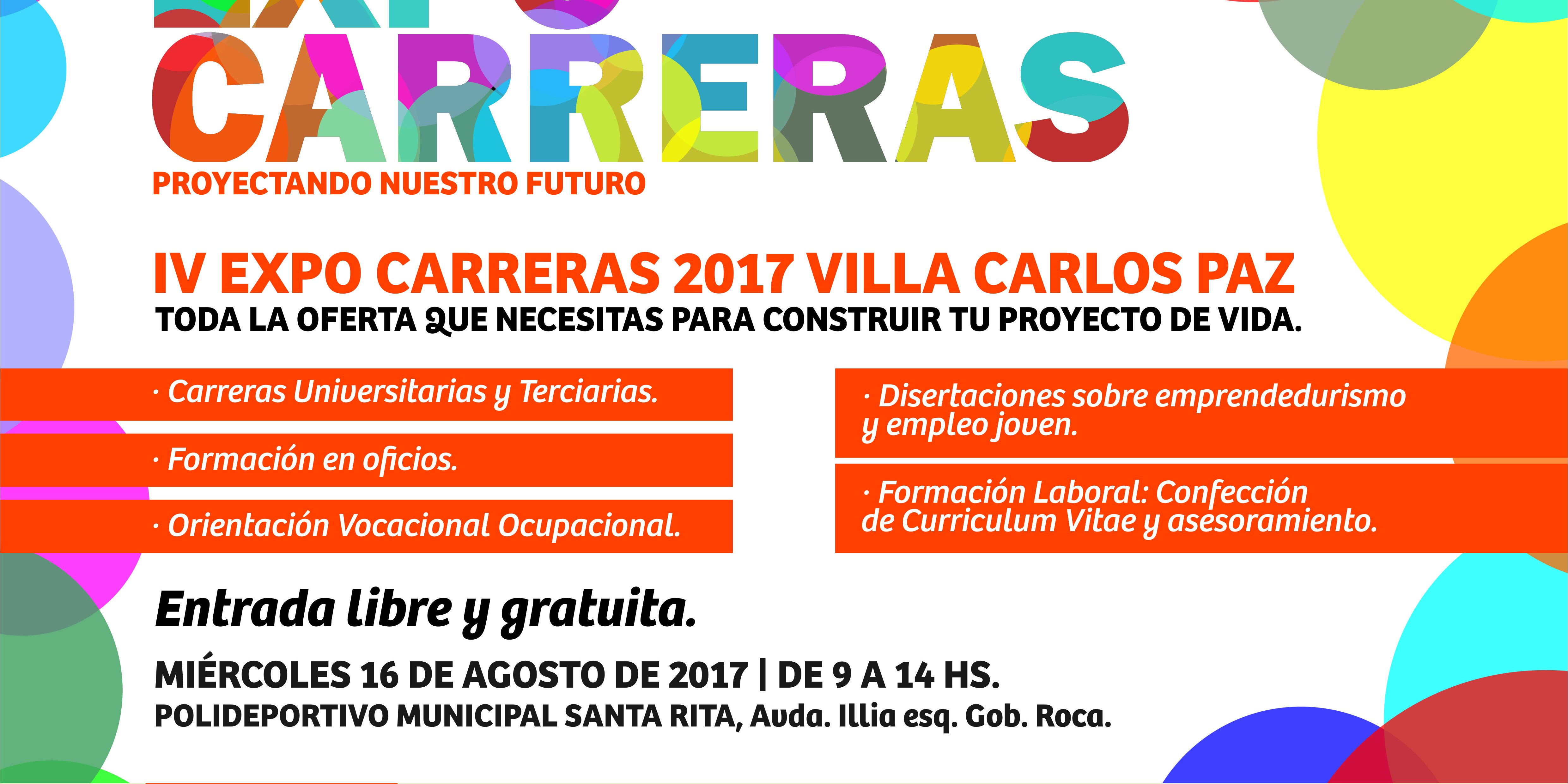 IV Expo carreras 2017 en Villa Carlos Paz – Instituto RET